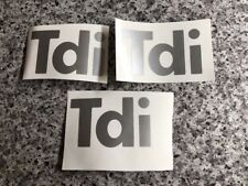 Land Rover Defender Tdi Decals. Tdi Stickers.