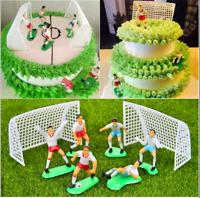 Soccer Football Cake Topper Decorations Birthday Cake Decorating 8 PCS Set