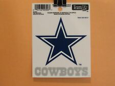 NFL Static Cling Decal - Dallas Cowboys