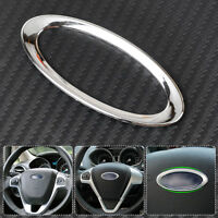 Steering Wheel Decoration Logo Trim Ring Cover fit Ford Focus Fiesta Ecosport