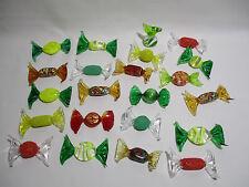 22 BONBONS MURANO VERRE SOUFFLE MURANO GLASS SWEET CANDY