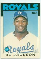 REFRIGERATOR MAGNET 1986 Topps Traded Bo Jackson Rookie Card Kansas City Royals