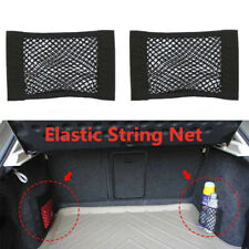 2x Car Accessories Envelope Style Trunk Cargo Net 2019 New Universal Black