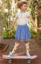 NEW Girls MATILDA JANE Adventure Begins Mother May I Skirt Blue Tulle Size 6 NWT