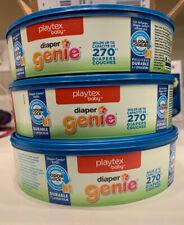 New Playtex Baby Diaper Genie Refill Pail Bags 3-Pack