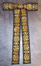 Vintage 60s Norsell Bowtie Bow Tie Rockabilly Square Dance Western ~Mint Cond~