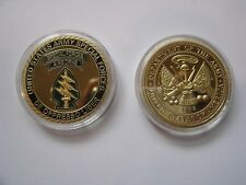 US Army Special Forces Airborne Commemorative Challenge Coin Special Operations