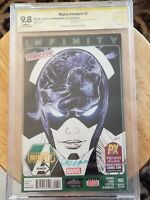 Mighty Avengers #2, Infiity, (CBCS 9.8), 2013, NYCC Exclusive, Variant, Signed