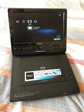 Sony BDP-SX1000 Portable Blu-Ray DVD Player 1080P Midnight Blue 10 inch Screen