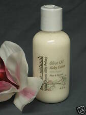 Olive Oil BODY LOTION - 88% Natural & Organic - 4 oz.