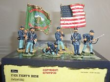 BRITAINS 17426 FIGHT N IRISH AMERICAN CIVIL WAR METAL TOY SOLDIER FIGURE SET