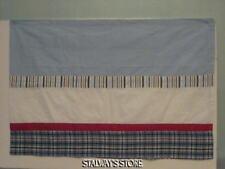 Ticklicious Blue Red White Stripe Plaid Valance New