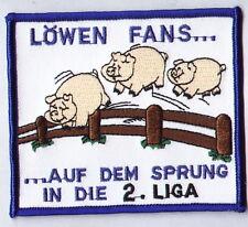 """Anti 1860 Aufnäher """"Löwen Fans auf..""""  Kutte Ultra"""