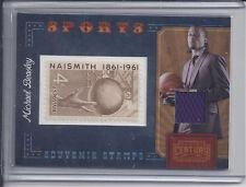 2010 Panini Century Sports Souvenir Stamps us Relic  Michael Beasley #124/250