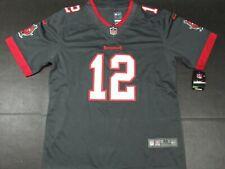 New Tom Brady #12 Tampa Bay Buccaneers Vapor Limited ALT Jersey Pewter