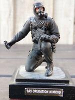 Verlinden 120mm 1:16 British SAS Soldier H&K Gas GranadeNimrod 1980 Figure Toy 1