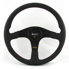 Momo Leder Sportlenkrad Tuner 35 350mm schwarz black steering wheel volante