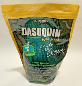 Nutramax Dasuquin with MSM Soft Chews 150 Count Large Dog Exp 09/2022