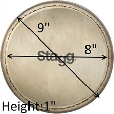 "Stagg 8"" Real Goat Skin DPY-8 Head Replacement For DPY Djembe [EU stock]"