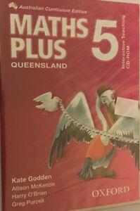 Maths Plus 5 Qld Australian Curriculum Edition Interactive Teaching CD-Rom,NEW💎