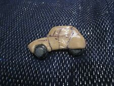 Wonderful naive car shaped brooch stylised approx 1½ ins long vehicle