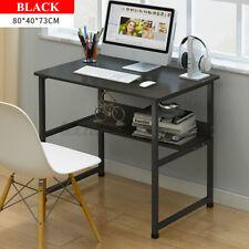 Computer Desk Pc Laptop Table Study Workstation Home Office Furniture w/Shelf