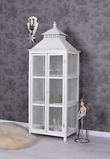 Cabinet Iron Display Case White Cabinet Country Style Shelf Rack Vintage