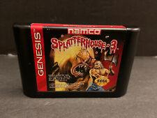 Splatterhouse 3 (Sega Genesis, 1993) Cart Only Clean Label 100% AUTHENTIC