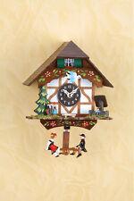 orologio con altalena dipinto a mano Black Forest Oscillante doll orologio