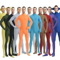 Kids Adult Cosplay Costume Catsuit Zentai Skin Bodysuit Unitard Tight Suit Party