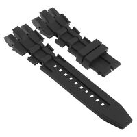 Strapsco Silicone Rubber Watch Band for Invicta Subaqua Reserve Analog