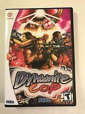 Dynamite Cop - Sega Dreamcast - Replacement Case - No Game