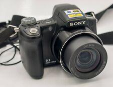 Sony Cybershot DSC-H50 9.1mp 1080p 15x Optical Zoom Nightshot IR Digital Camera