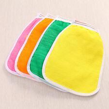Bath Scrub Glove Shower Mitt Body Exfoliating Cloth Sponge Puff Random Delivery