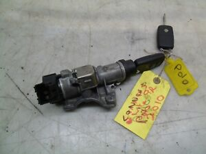 VOLKSWAGEN POLO 2011 1.2 TDI IGNITION SWITCH WITH TWO KEYS 6R0905851B