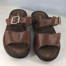 Propèt Brown Double Strap Sandals Size 6.5M Spring Summer