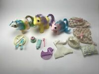 My Little Pony Mixed Lot Quakers, Nightcap And Sleep Tight - Vintage