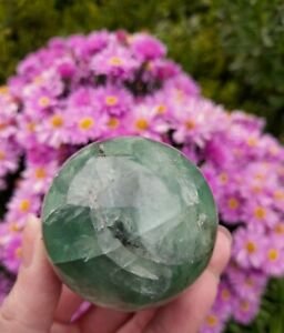 Rainbow Fluorite Crystal Ball / Sphere