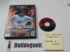 RedCard 2003 Red Card Soccer Nintendo Gamecube Game with Case NO Manual