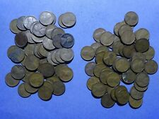 Two rolls of 1929-S Lincoln cents  circulated