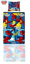 Spiderman WebHead Single Reversible Designs Duvet Cover&Pillowcase Set