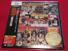 KISS - UNMASKED - Japan MINI LP SHM - UICY-93522