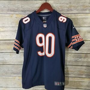 Nike NFL Team Apparel Jersey Chicago Bears Youth L 14/16 Peppers 90 Blue Orange