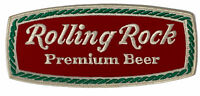 Rolling Rock Premium Beer Embroidered Patch 9 1/2 in - Large