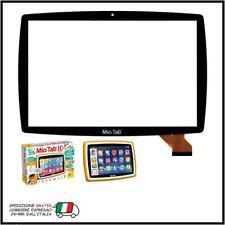 """Touch Screen Vetro 10,1"""" per Tablet Lisciani Mio Tab MP0101065 Nero"""