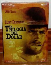 LA TRILOGIA DEL DOLAR PACK 3 DISCOS DVD NUEVO PRECINTADO WESTERN (SIN ABRIR) R2