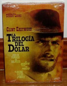 La Trilogia Del Dollaro Set 3 Dischi DVD Nuovo Sigillato Western (Senza