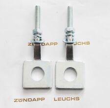 Zündapp Kettenspanner 2 x rund 448-15.728 CS 25 Typ 448