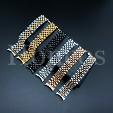 20 MM President Jubilee Watch Band Bracelet Fits for Rolex Stainless Solid Link