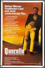 QUERELLE 1982 unfolded US 1 Sheet poster Rainer Werner Fassbinder filmartgallery